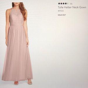 Tulle Halter Dress